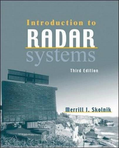 9780071181891: Introduction to Radar Systems (Int'l Ed) (McGraw-Hill International Editions: Electrical Engineering Series)