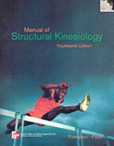 9780071181914: Manual of Structural Kinesiology (Mcgraw-Hill International Editions: Healthcare Professions Series)