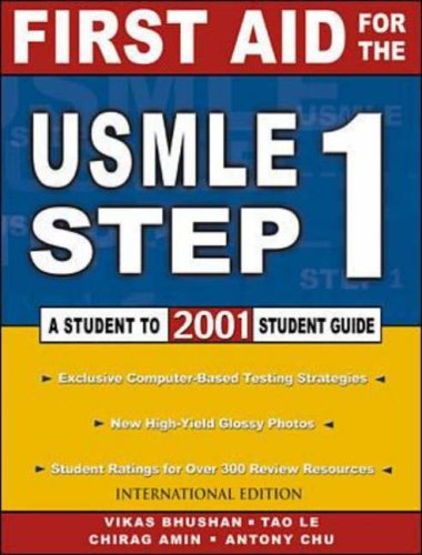 9780071182027: First Aid for the Usmle Step 1