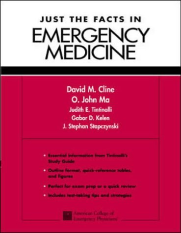 9780071182058: Just the Facts in Emergency Medicine: A Comprehensive Study