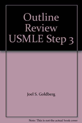 9780071182188: Outline Review USMLE Step 3