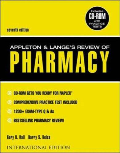 9780071182249: Appleton and Lange Review of Pharmacy (Appleton & Lange Review)