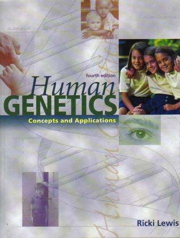 9780071182393: Human Genetics