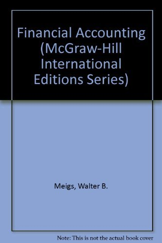 9780071182447: Financial Accounting (McGraw-Hill International Editions Series)