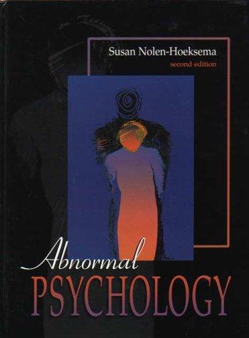 9780071182454: Abnormal Psychology