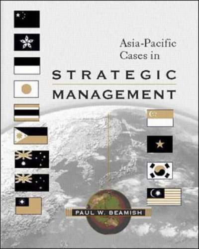 9780071183123: Asia-Pacific Cases in Strategic Management