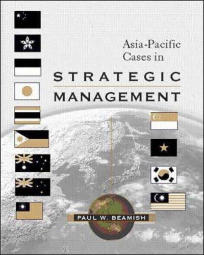 9780071183123: Asia-Pacific Cases in Strategic Management