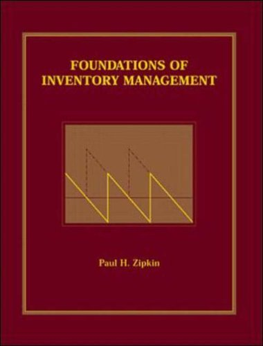 9780071183154: Foundations of Inventory Management
