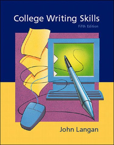9780071183253: College Writing Skills