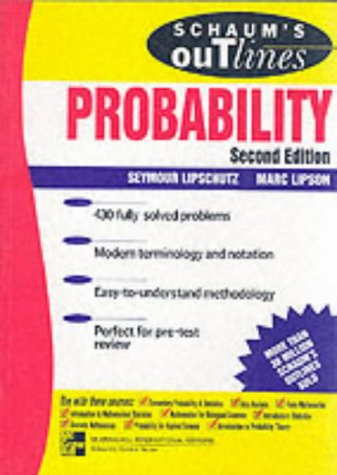 9780071183567: Schaum's Outline of Probability