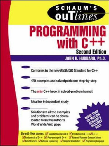 9780071183727: Schaum's Outline with C++