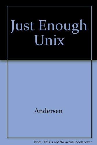 9780071184496: Just Enough Unix