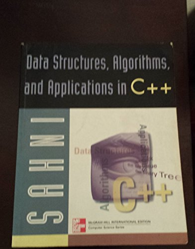 9780071184571: Data Structures, Algorithms, and Applications in C++