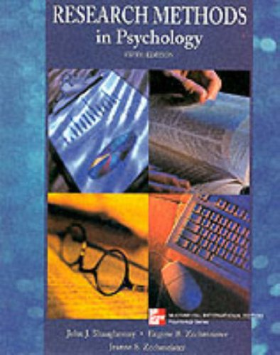 9780071184663: Research Methods in Psychology (McGraw-Hill International Editions: Psychology Series)