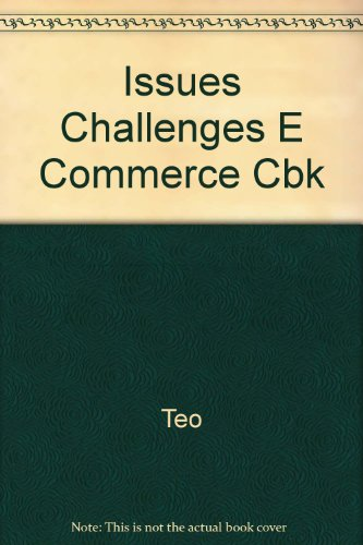 9780071186285: Issues Challenges E Commerce Cbk