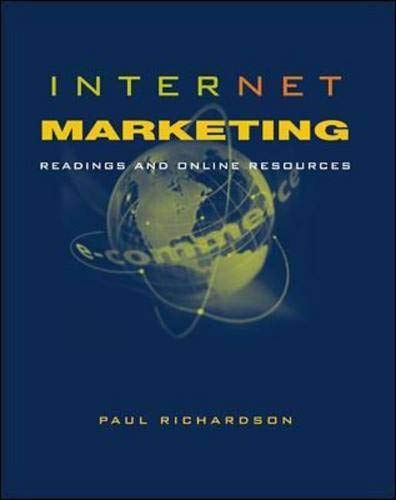 9780071188098: Internet Marketing: Readings and Online Resources (McGraw-Hill International Editions: Marketing & Advertising Series)