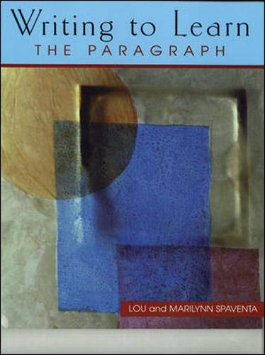 9780071188296: WRITING TO LEARN THE PARAGRAPH (BOOK 2)