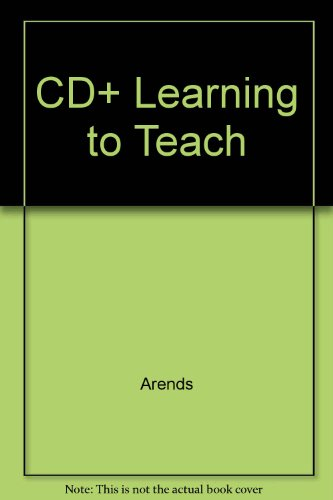 9780071188432: CD+ Learning to Teach