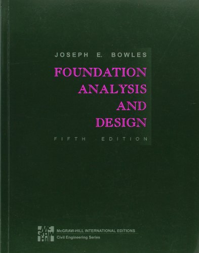 9780071188449: Foundation Analysis and Design