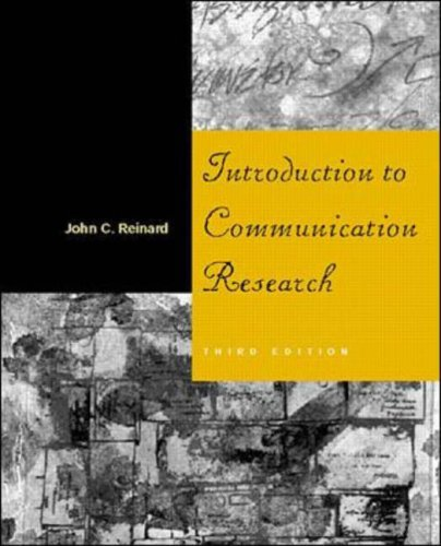 9780071188678: Introduction to Communication Research