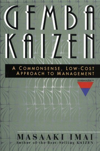 9780071189088: Gemba Kaizen : A Commonsense, Low-Cost Approach to Management, (Intl. Edition)