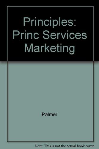 9780071189767: Principles: Princ Services Marketing