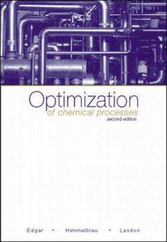 9780071189774: Optimization of Chemical Processes