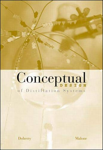 9780071189996: Conceptual Design of Distillation Systems with CD-Rom