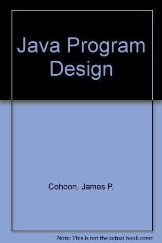 9780071192552: Java Program Design