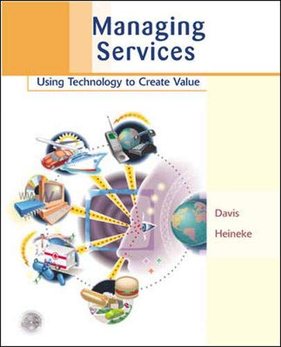 9780071194778: Managing Services: Using Technology to Create Value