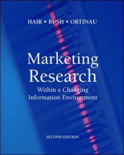 9780071195447: Marketing Research: Within a Changing Information Environment