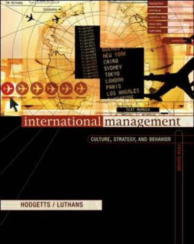 9780071195591: International Management: Culture, Strategy and Behavior