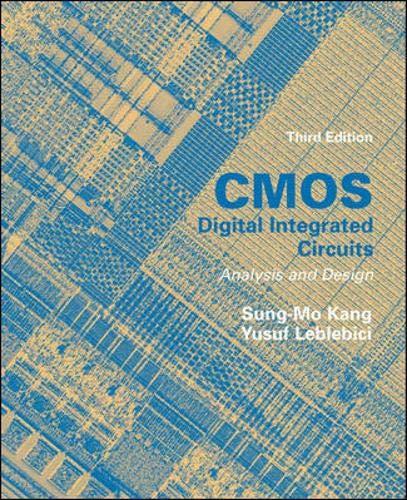 9780071196444: Cmos Digital Integrated Circuits: Analysis and Design