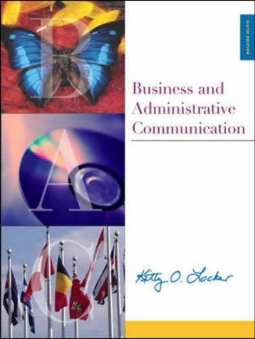 9780071198523: Business and Administrative Communication