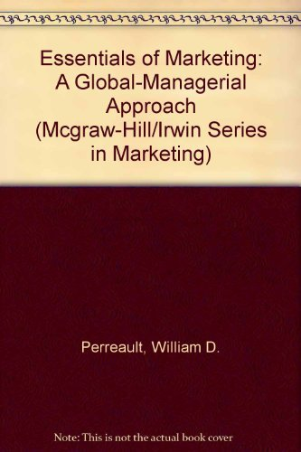 9780071198691: Essentials of Marketing: A Global-Managerial Approach (McGraw-Hill/Irwin Series in Marketing)