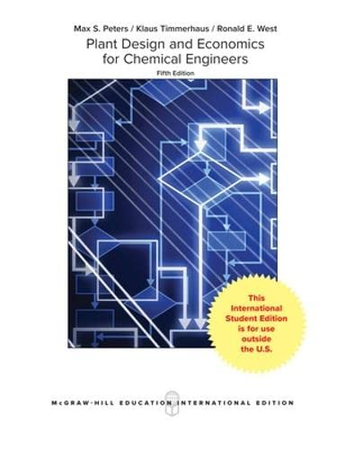 9780071198721: Plant Design and Economics for Chemical Engineers (5th International Edition)