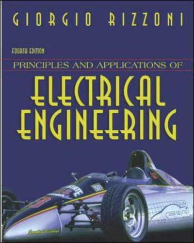 9780071198783: Principles and Applications of Electrical Engineering