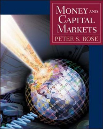 9780071198806: Money and Capital Markets: Financial Instruments in a Global Marketplace (The McGraw-Hill/Irwin series in finance, insurance and real estate)