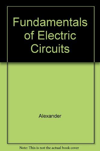 9780071198837: Fundamentals of Electric Circuits