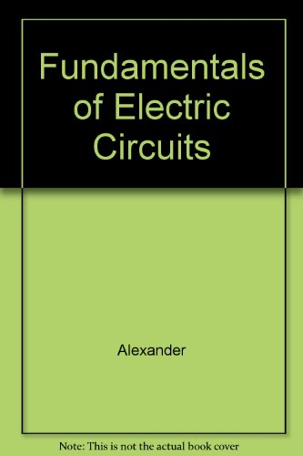 9780071198837: Fundamentals of Electric Circuits