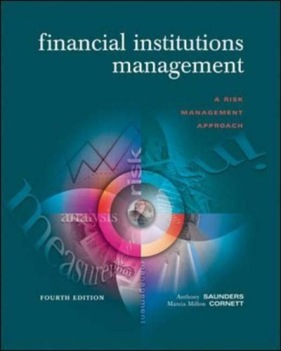 9780071198875: Financial Institutions Management: A Risk Management Approach (McGraw-Hill/Irwin Series in Finance, Insurance & Real Estate)