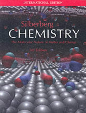 9780071198943: Chemistry: The Molecular Nature of Matter and Change (3rd Edition)