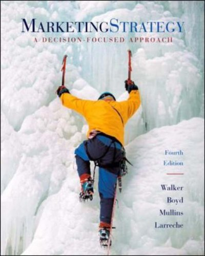 9780071199070: Marketing Strategy: A Decision-focused Approach with Gamar Software