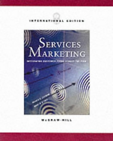 9780071199148: Services Marketing (3rd Edition)