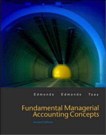 9780071199179: Fundamental Managerial Accounting Concepts