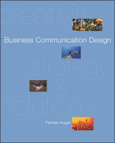 9780071199216: Business Communication Design