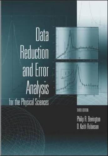 9780071199261: Data Reduction and Error Analysis for the Physical Sciences (Int'l Ed)
