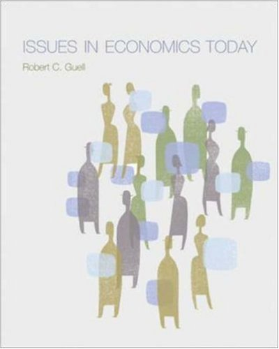 9780071199322: Issues in Economics Today