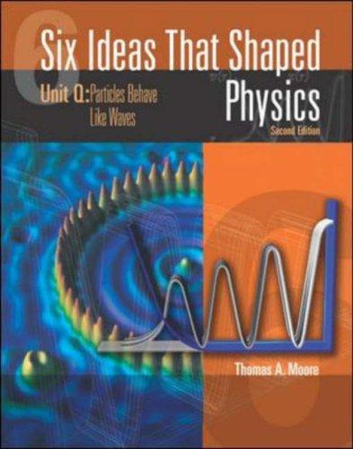 9780071199421: Six Ideas That Shaped Physics: Matter Behaves Like Waves Unit Q