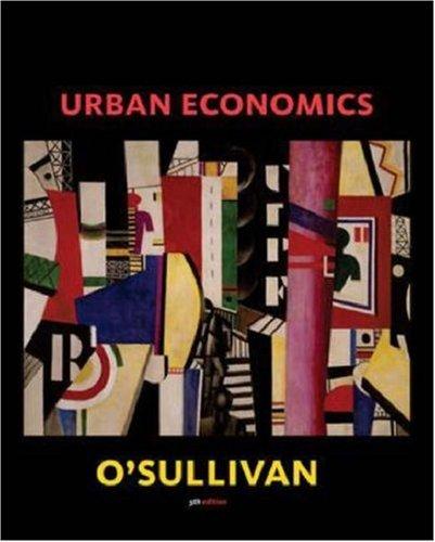 9780071199452: Urban Economics